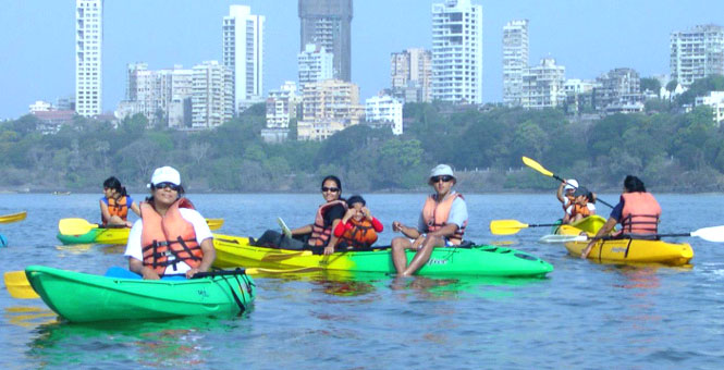Learn Kayaking in Mumbai