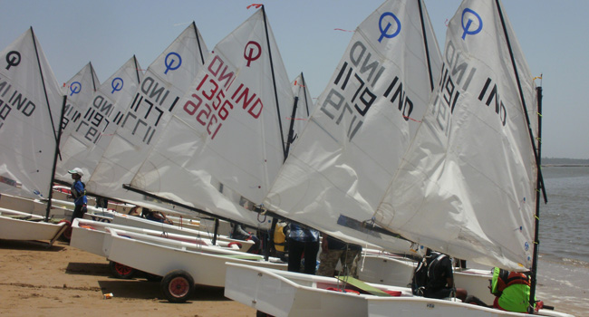 Optimist Sailboats Mumbai
