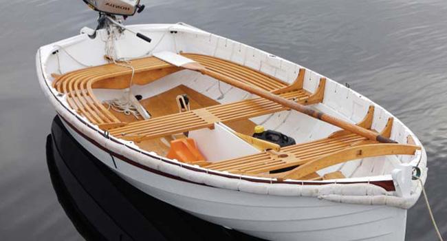 Wooden Motor Dinghy Boat Mumbai