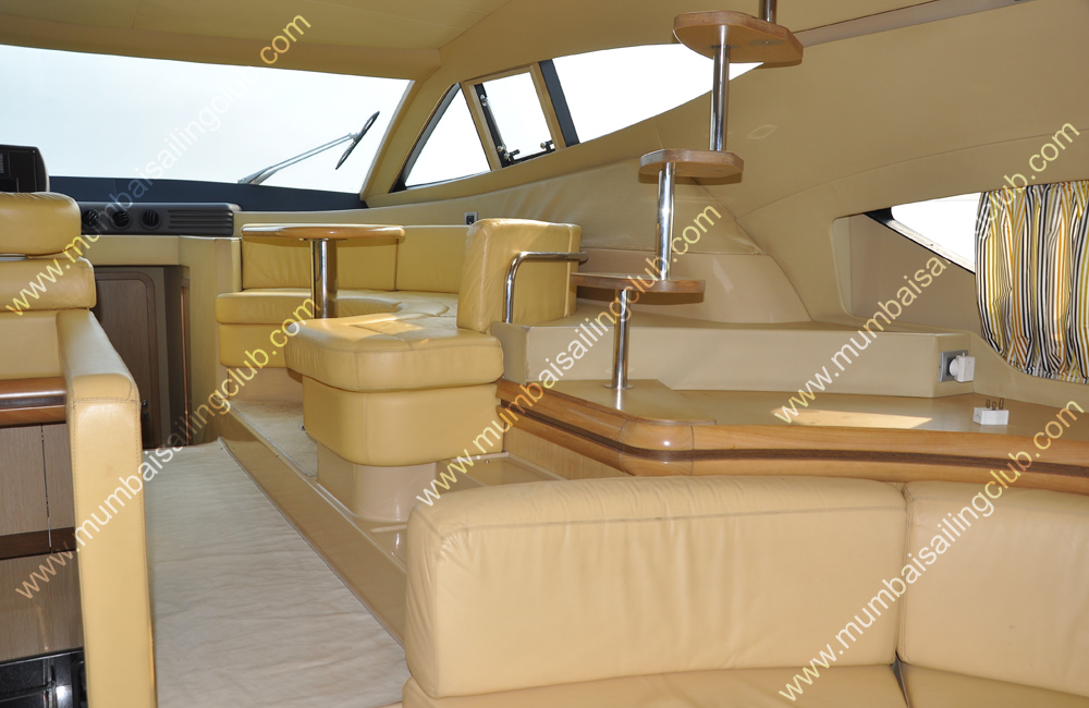 Ferretti 550 Luxury Yacht on Hire in Mumbai