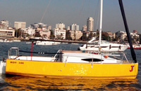 Cabin Sailboat JJ Mumbai